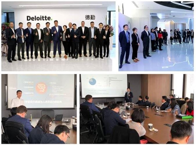 Deloitte X UiPath Automation First Roundtable and Leadership