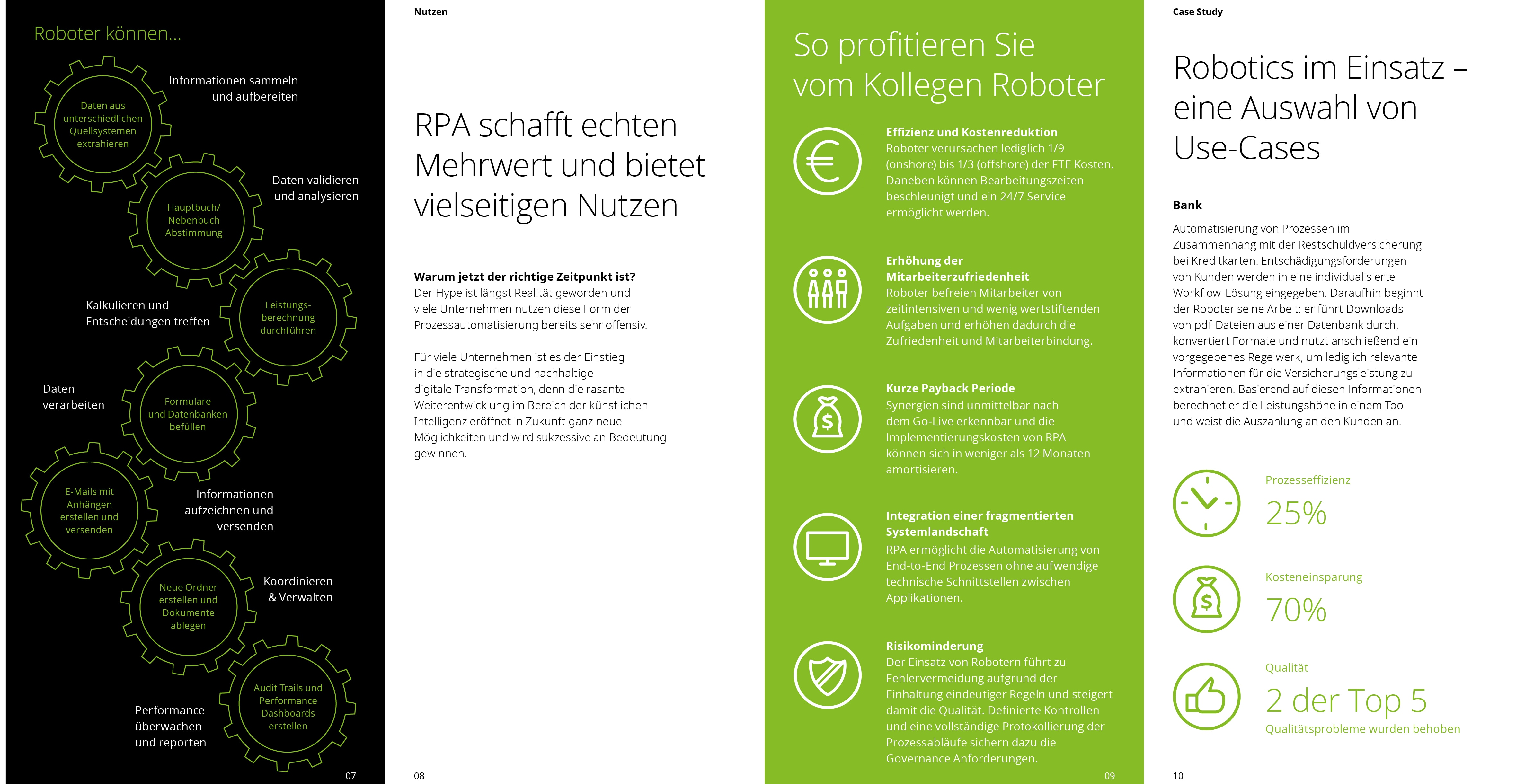 Robotics Process Automation In Financial Services Deloitte Deutschland