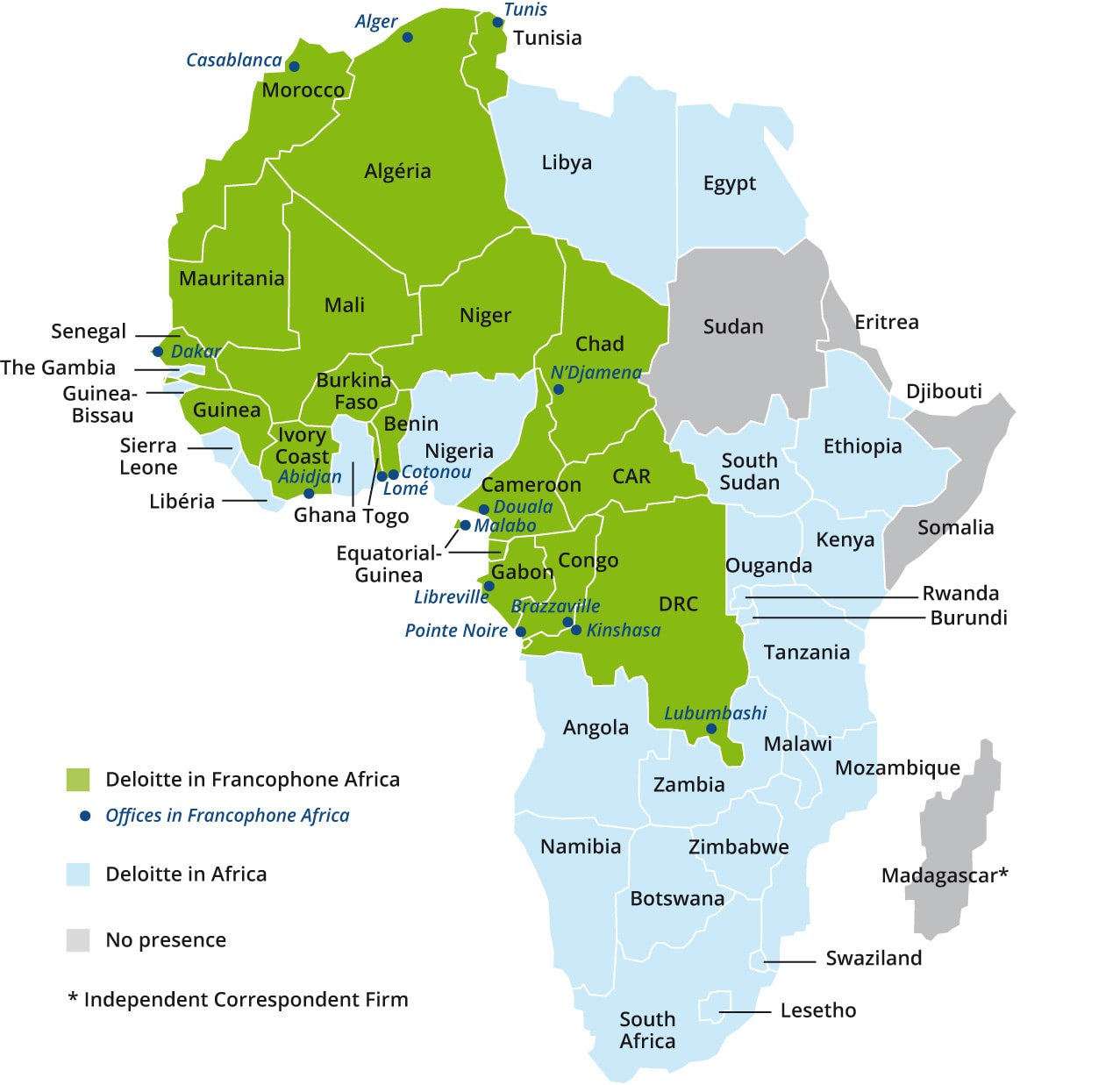French-speaking Africa Cluster