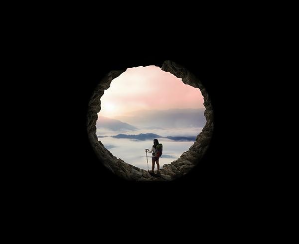 hiking silhouette desktop wallpaper - photo #39