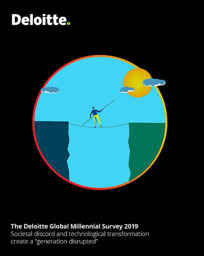 The Deloitte Global Millennial Survey 2019 Societal Discord And Technological Transformation Create A Generation Disrupted