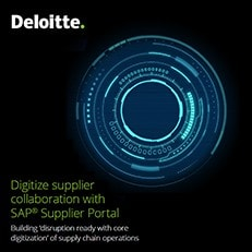 Digitize supplier collaboration with SAP