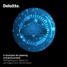 A cloud plan for planning and procurement