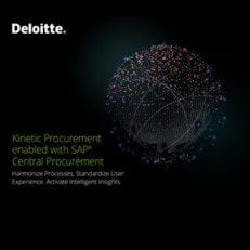 Kinetic Procurement enabled