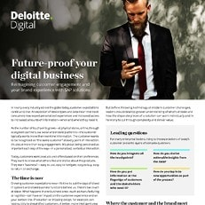 Future-proof your digital business