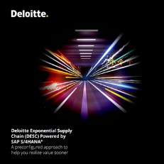 Deloitte Exponential Supply Chain