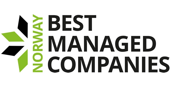 Norway's Best Managed Companies logo