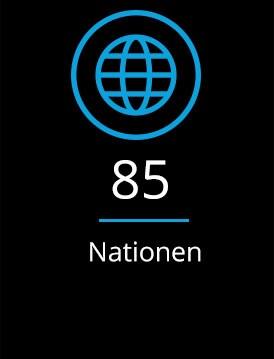 Keyfact 6: 85 Nationen