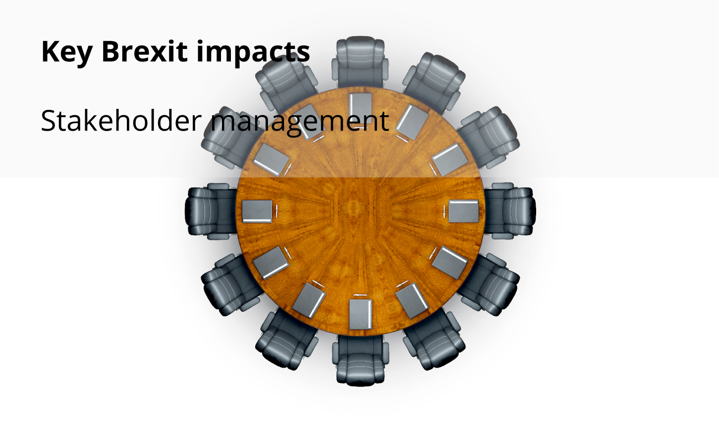 Key Brexit impacts: Stakeholder management