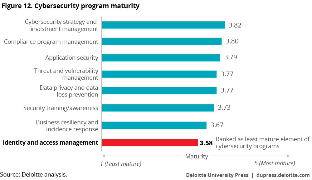 Cybersecurity program maturity