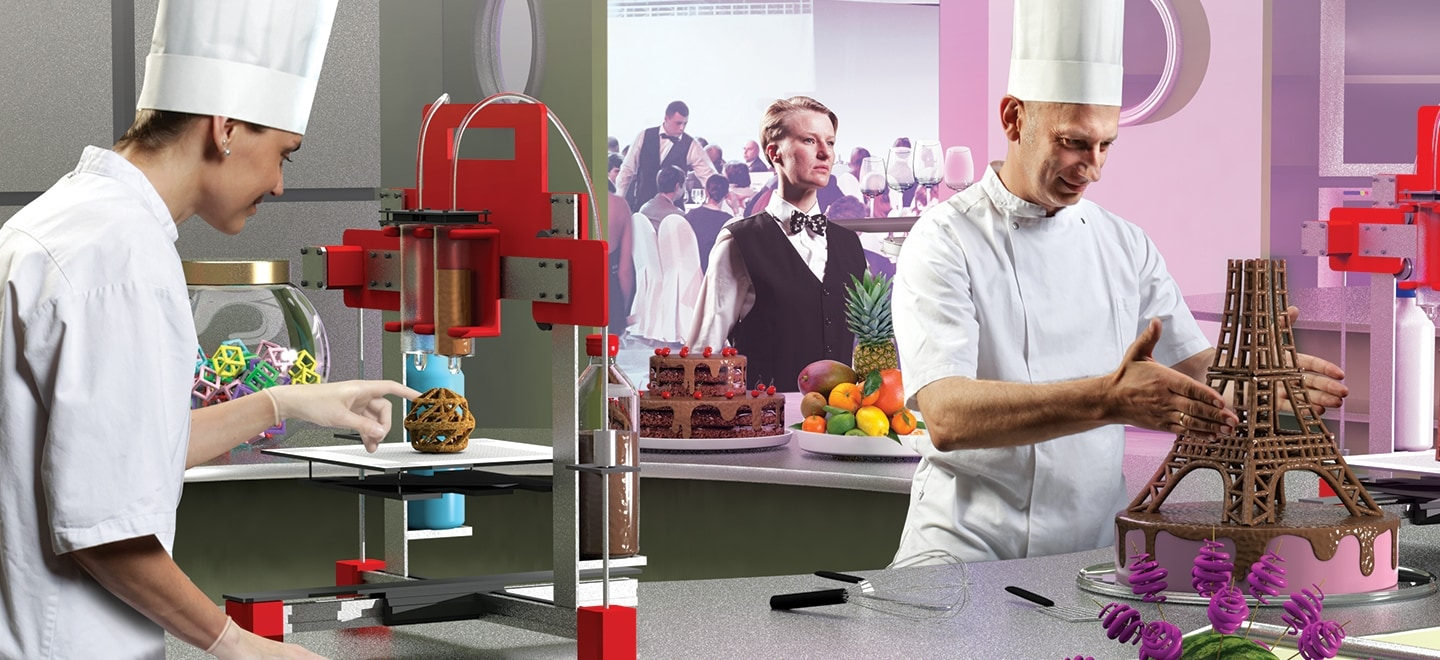 3D printing in the food industry | Deloitte Insights