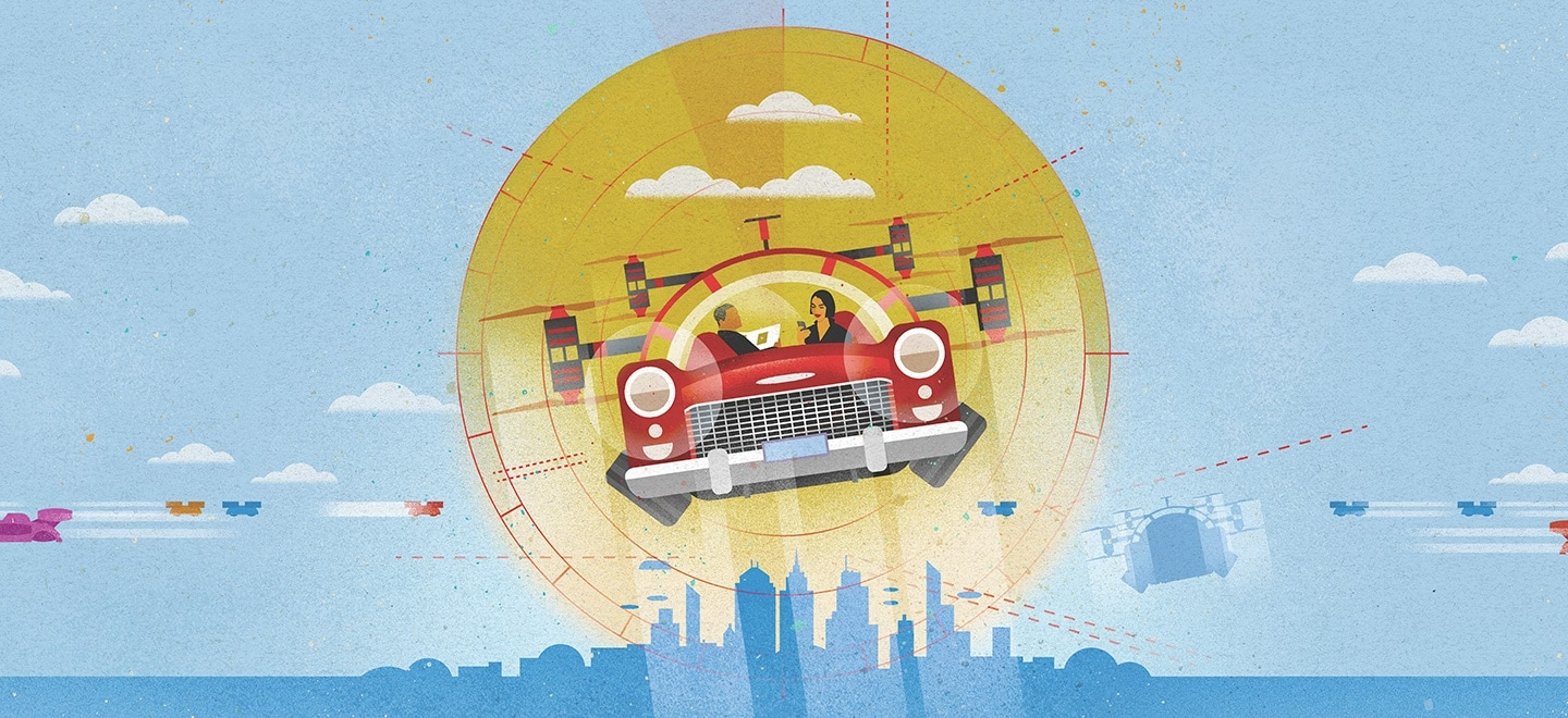 Reimagining The Future Of Mobility With Passenger Drones Deloitte