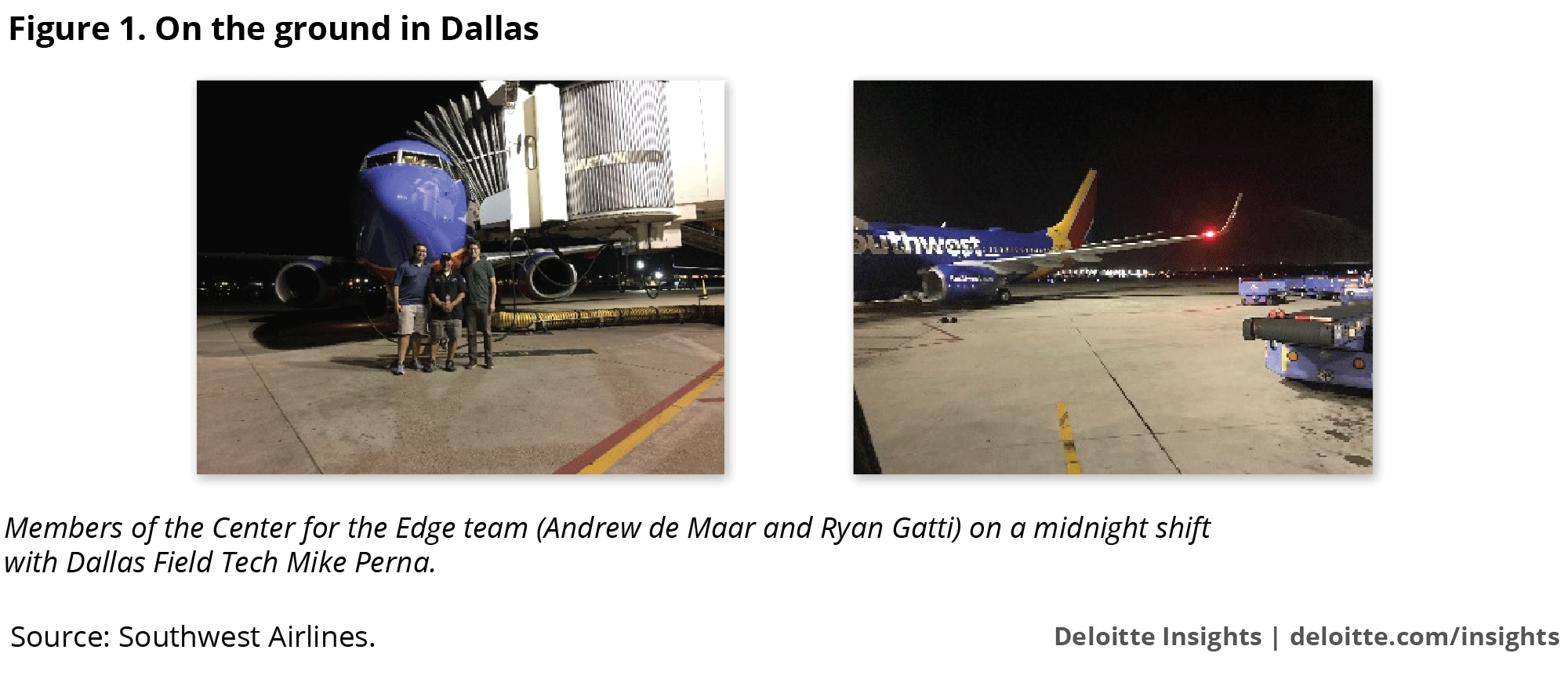 On the ground in Dallas