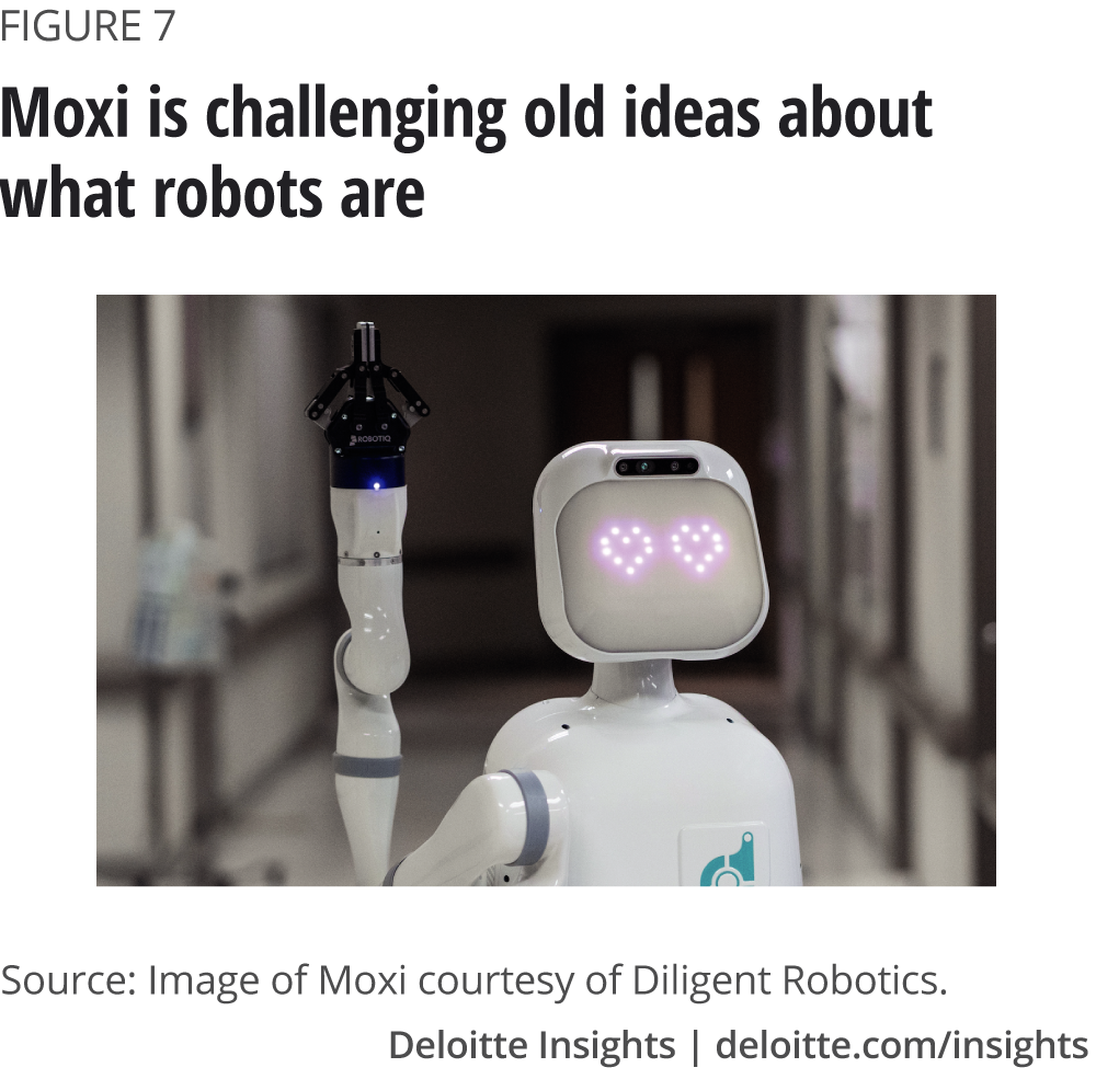 Moxi is challenging old ideas about what robots are