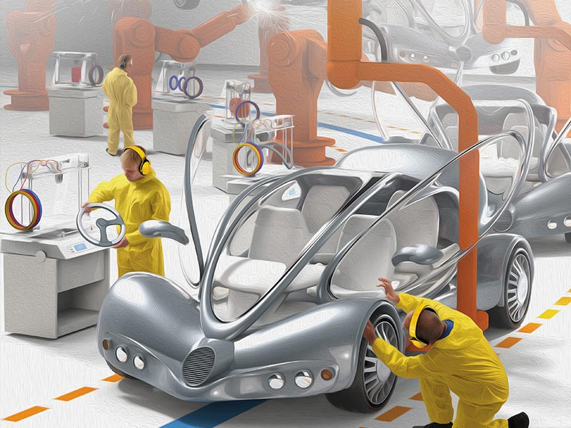 Additive Manufacturing 3d Opportunity For The Automotive Industry