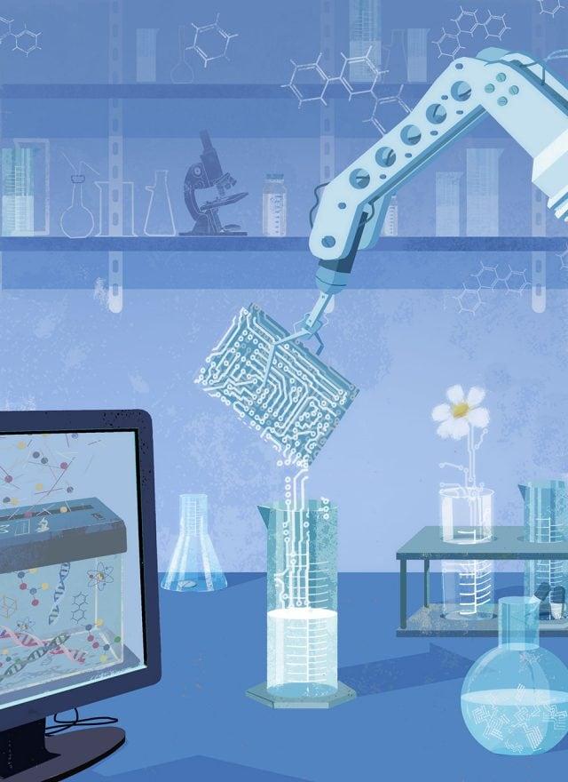 Industry 4 0 and the chemicals industry   Deloitte Insights