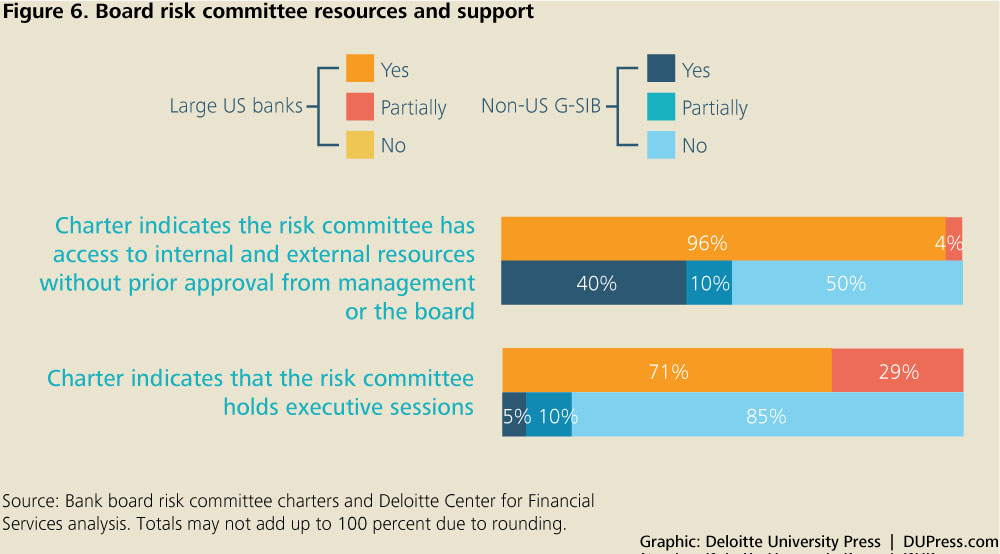 DUP_1072_Figure 6. Board risk committee resources and support